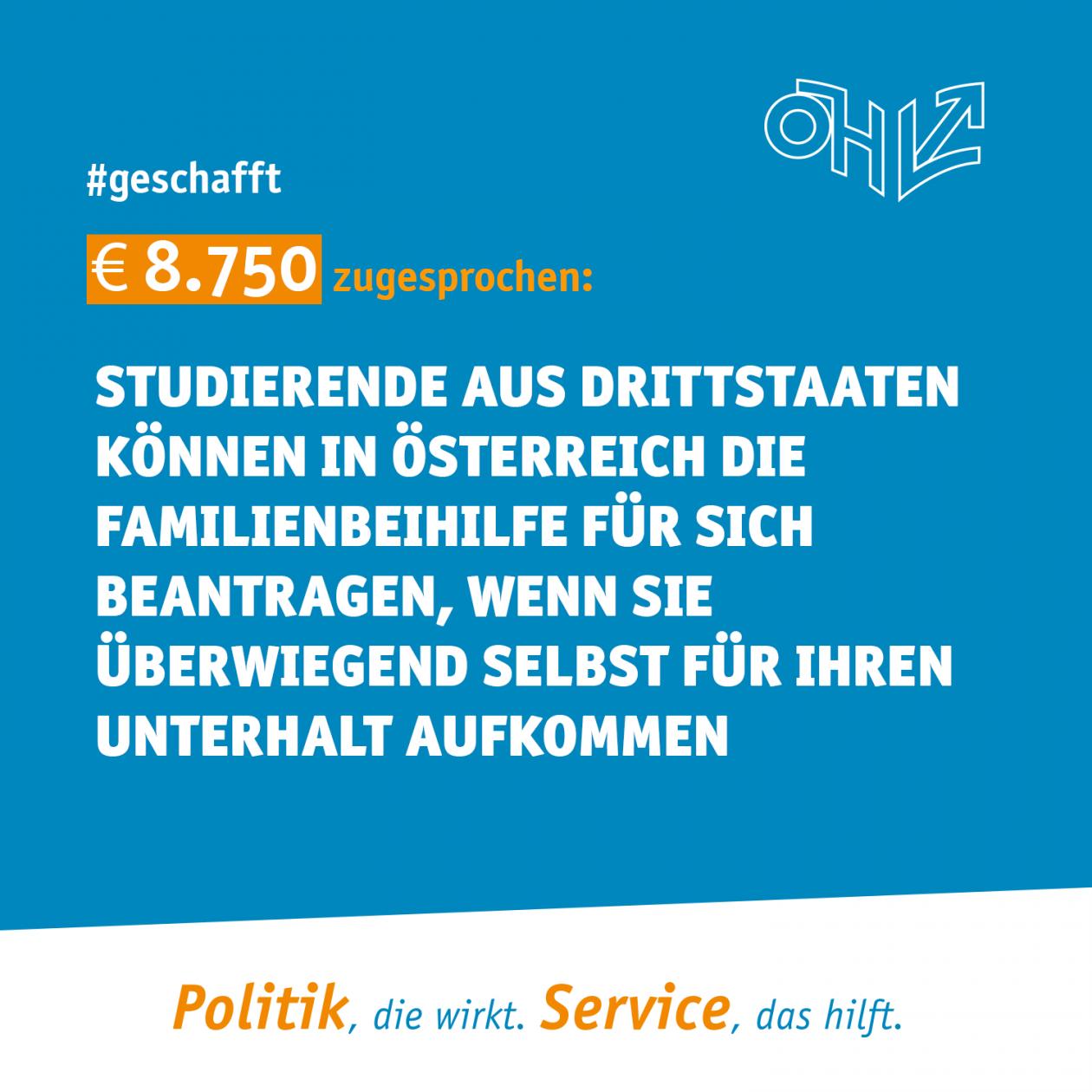 € 8.750 zugesprochen