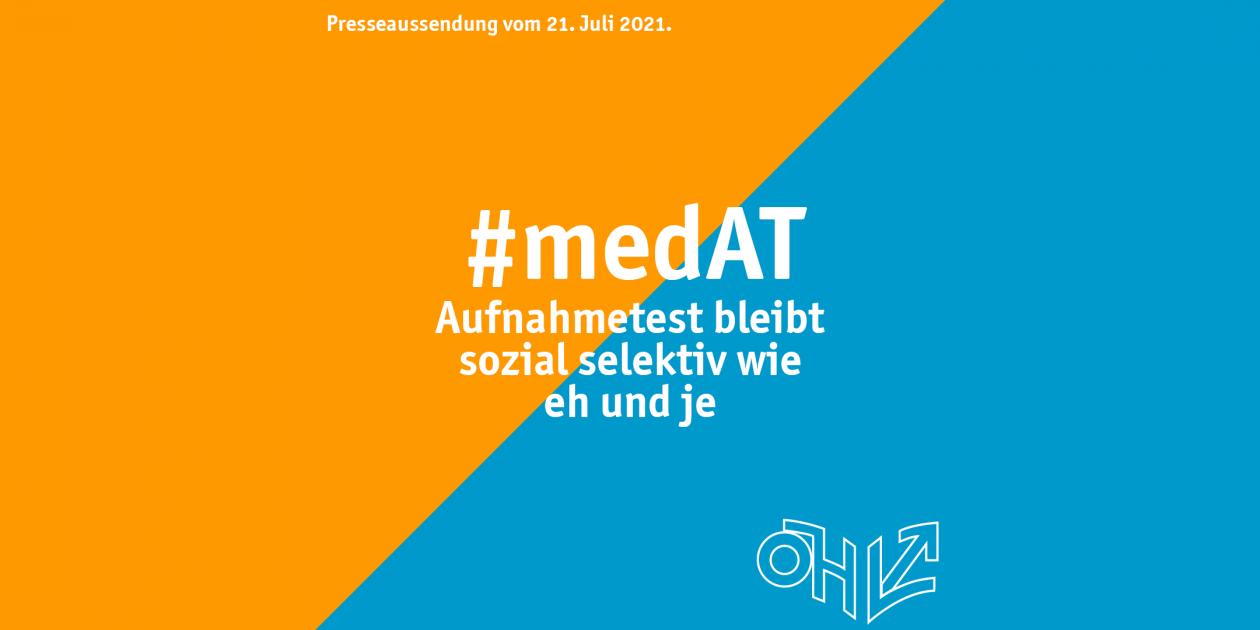 #medAT bleibt sozial selektiv wie eh und je
