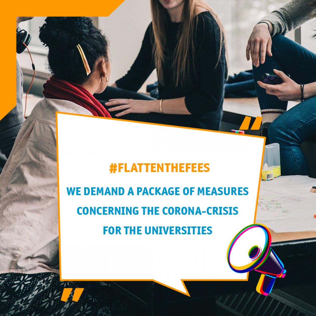 Wir fordern ein Corona-Maßnahmenpaket für die Hochschulen