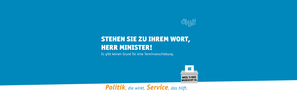 Postponement of the elections of the Austrian Students' Union 2019: Open letter