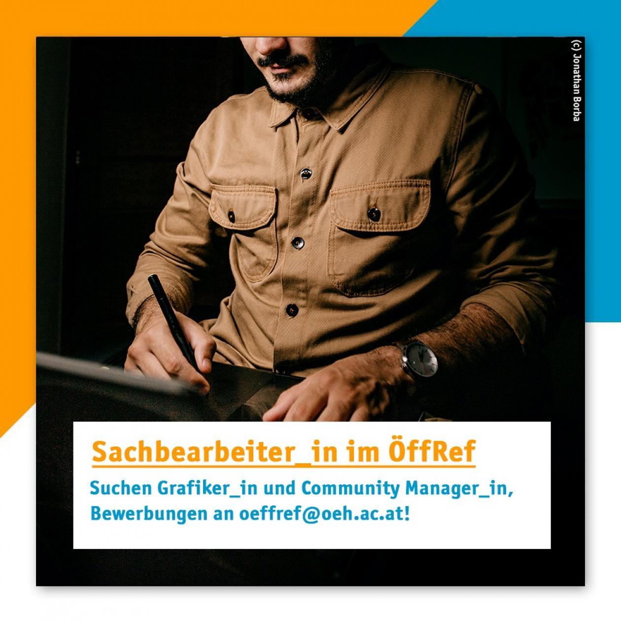 Stellenausschreibung für Sachbearbeiter_in im Referat für Öffentlichkeitsarbeit