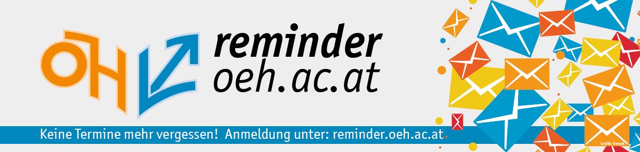 Banner ÖH Reminder