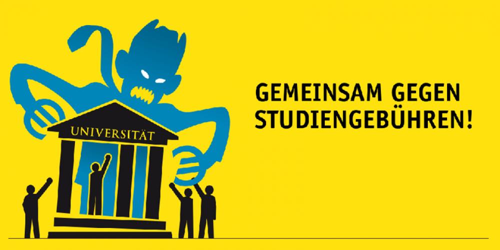 Gemeinsam gegen Studiengebühren