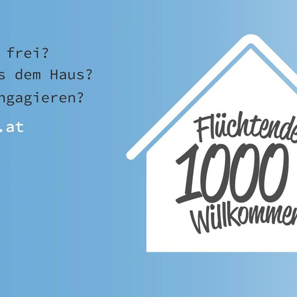 """""""Flüchtende 1000x Willkommen"""" - Wie kann ich helfen?"""