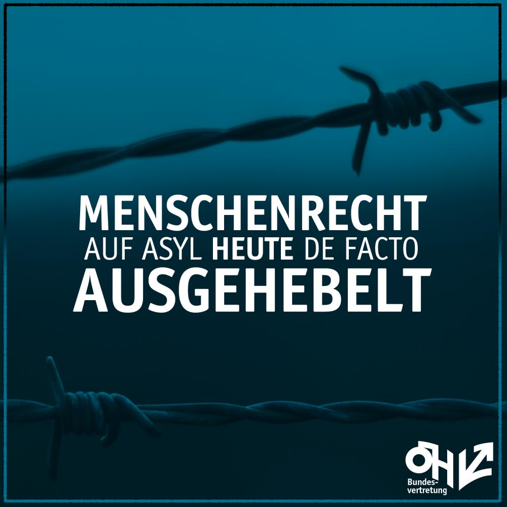 menschenrecht auf asyl heute de facto ausgehebelt