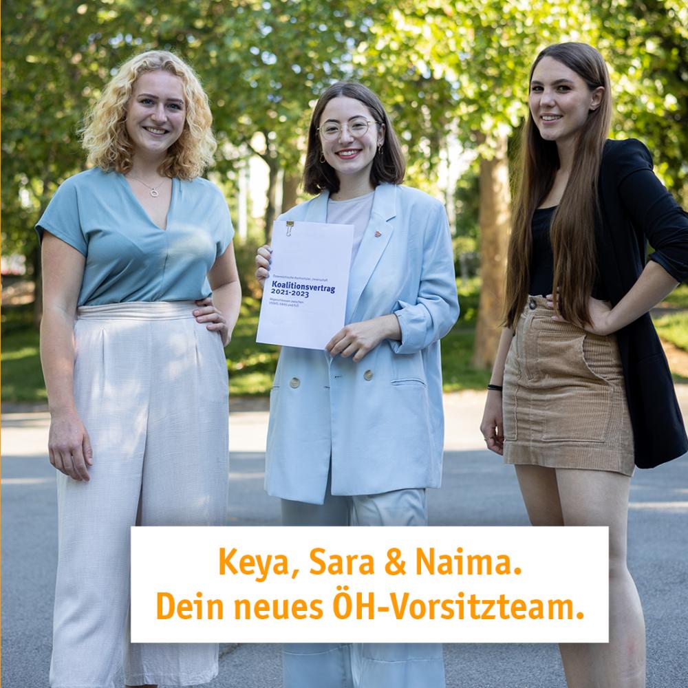 Keya, Sara und Naima