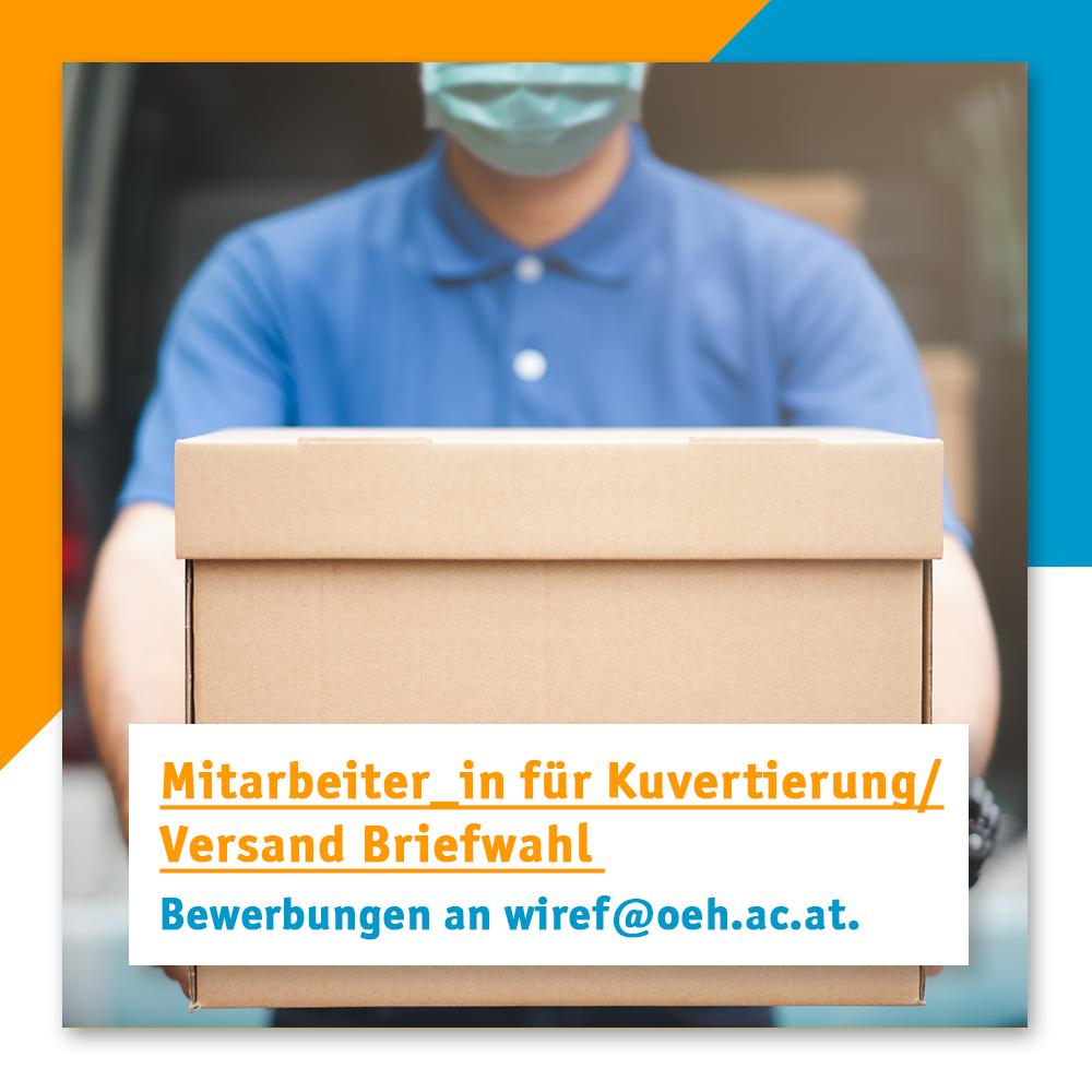 Mitarbeit Kuvertierung/Versand Briefwahl