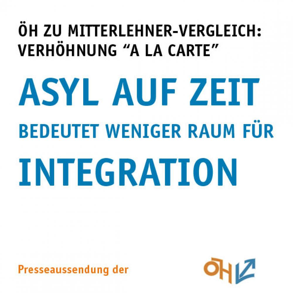 Asyl auf Zeit bedeutet weniger Raum für Integration